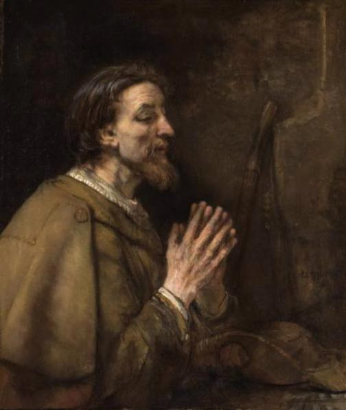 St James the Great, by Rembrandt