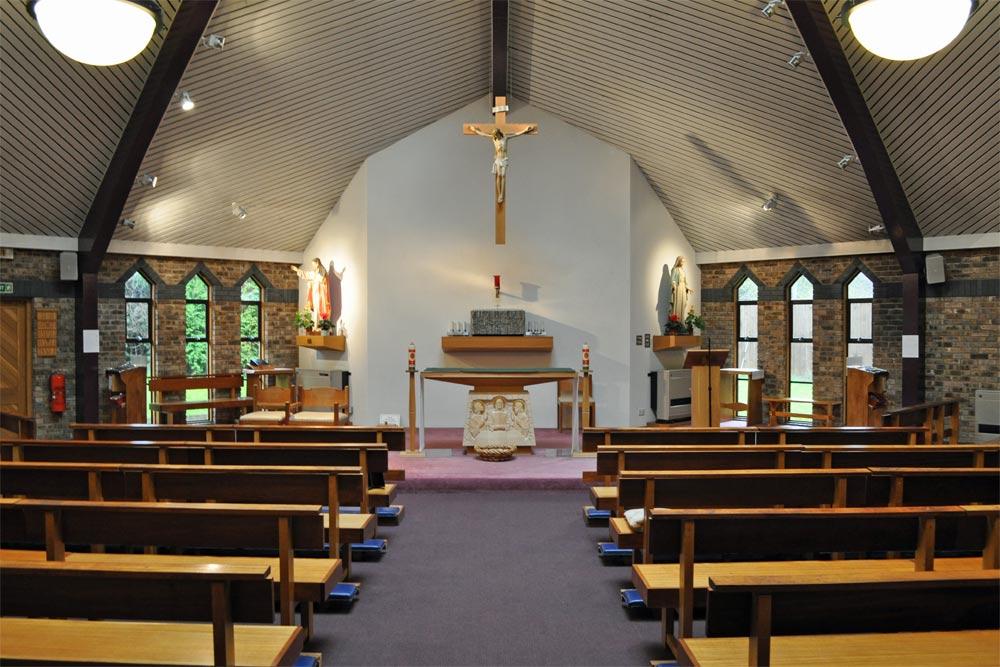 Interior of St Wulstan RC Church, Totteridge
